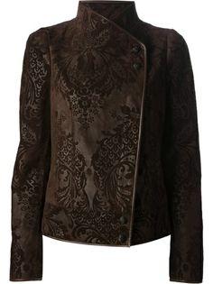 GUCCI Foliage Print Jacket