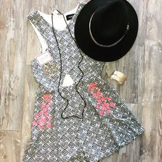 POP OF COLOR// new @official_minkpink Night Rider Playsuit...perfect for the weekend!  CALL US TO HOLD OR SHIP #941.312.2439  #malibufox #boutique #boho #beachbabes #gypsy #fashion #girly #srq #sarasota #shoes #bradenton #florida #shopping #universityparkway #utc