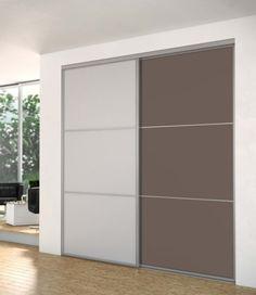 Porte de placard Reflet - collection aluminium SOGAL TANGUY Matériaux