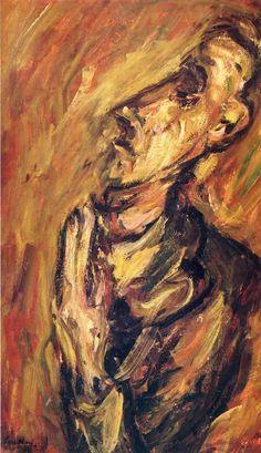 soutine paintings   Praying Man - Chaim Soutine Paintings Wallpaper Image