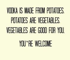 You're Welcome! :) this must be why I love potatoes www.spiritedgifts.com #happysipping