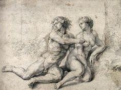 O Αδάμ κατηγορεί την Εύα ενώπιον του Θεού Γιαν Μαμπουζε (1520-25)