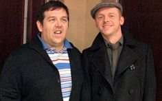 Simon & Nick ♥ - simon-pegg-nick-frost-ed-wright Photo