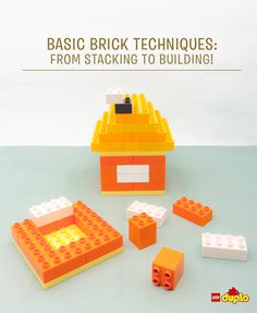 Laying the groundwork is an important part of any new building project, even if it's destined to be knocked straight back down again! We've got some tips and tricks to help your toddler build a stable foundation: http://www.lego.com/family/articles/basic-brick-techniques-from-stacking-to-building-7ee9586fdc0c42468fd6b3b9b5256ab3