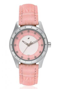 The Soft Pastel Shades are Contrasted with a Large Case with Soft Curves to Bring About a Good Balance that the Girls Today Seek. Send this Fastrack Watch FORHER through our Shop2AP and Make them Feel Happy and Surprise. We Do Midnight Home Deliveries.