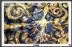 I want this, FRAMED for my living room... right next to my Starry Night... YES I know it's Doctor Who...