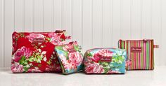 Our Lou Harvey cosmetic bags! http://www.jacarandaliving.com/index.php/lou-harvey-south-africa-bags.html