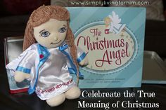 The Christmas Angel giveaway-start a tradition that celebrates the real meaning of Christmas