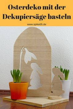 Easter decoration with a scroll saw Easter is getting closer. So it& time to take care of the Easter decorations. Easter Art, Easter Crafts, Scroll Saw Patterns, Animal Projects, Christmas Paintings, Wooden Hearts, Nature Crafts, Diy Projects To Try, Hobbies And Crafts