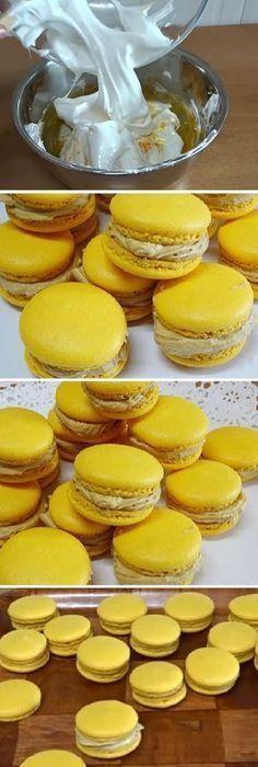 La reina de los MACARONS DE CAFÉ (French Macarons). #macarons #galletas #french #cookies #crema #cafe #buttercream #mazapan #merengue #comohacer #lomejor #masa #bread #breadrecipe #pan #panfrances #panettone #panes #pantone #pan #receta #recipe #casero #torta #tartas #pastel #nestlecocina #bizcocho #bizcochuelo #tasty #cocina #chocolate Si te gusta dinos HOLA y dale a Me Gusta MIREN … Macaroons, Bread Recipes, Cooking Recipes, Bite Size Desserts, Sweet And Salty, Cakes And More, Sweet Recipes, Food To Make, Dessert Recipes