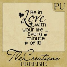 Create with TLC: Saturday Word Art Freebie.......