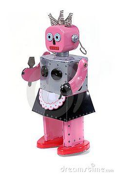 Shebot Maid Robot Toy