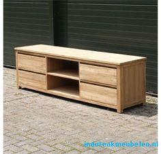 TV meubel 2 meter 4 laden