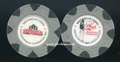 #LasVegasCasinoChip of the day is a Westward Ho 2nd Anniversary Chip from 1984 you can get here https://www.all-chips.com/ChipDetail.php?ChipID=19254 #CasinoChip #LasVegas