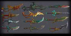 Daggers,swords MoP by FirstKeeper on deviantART
