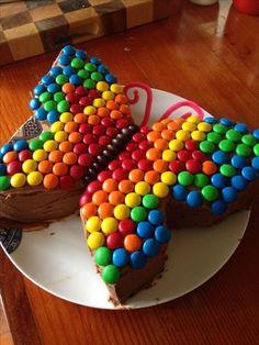 Gourmet-Kuchen lernen zu tun   - Butterfly birthday ideas -   #