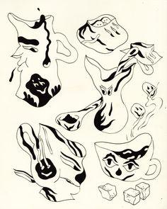 Misaki Kawai, Arte Popular, Sketchbook Inspiration, You Draw, Art Graphique, Pretty Art, Grafik Design, All Art, Art Inspo