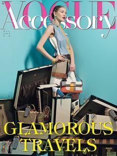 ROSSO prezioso su Vogue Accessory di maggio 2013