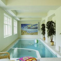 Small Indoor Pools with TV for Luxury Modern Home Decoration Ideas ...