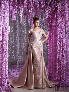 Toumajean couture – 33 photos - the complete collection Lovely Dresses, Beautiful Gowns, Elegant Dresses, Gala Dresses, Homecoming Dresses, Reception Gown, Designer Gowns, Bridal Gowns, Marie