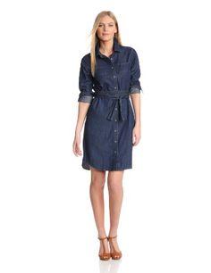 Pendleton Womens Wayward Dress, Denim Shirting, Small   Traveling Of Life