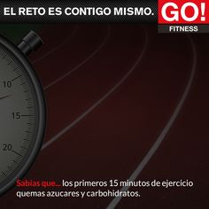 Sabías que... #gofitness #clasesgo #ejercicio #gym #fit #fuerza #flexibilidad #reto #motivate