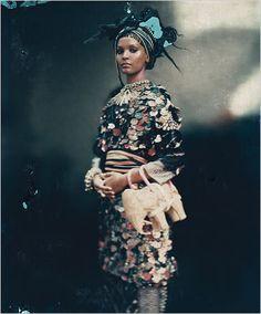 African Queen. Liya Kebede by roversi