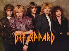 This may have been one of the last times Def Leppard was awesome. I heart them.
