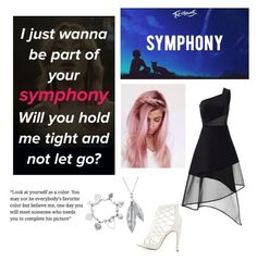 """""""Favorite Song"""" by blondypup ❤ liked on Polyvore featuring David Koma, Charlotte Russe, ChloBo and Nina B"""