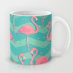 Judymoon - Flamingo - Coffee Mugs 3.7' h x 3.1' 11 oz -- Tried it! Love it! Click the image. : Coffee Mugs