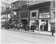 See's Candies More long shop lines (and patient customers!) from the 40s.