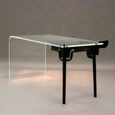 unique console table