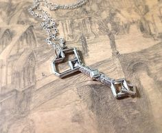 The Hobbit Inspired Thorin's Key Necklace. Silver by MintMarbles, $28.00
