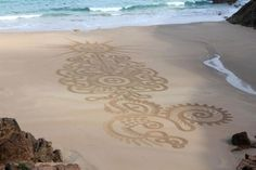 Andres Amador's Sand Art | Free People Blog #freepeople