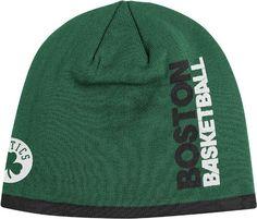 9ae83c64631 Boston Celtics Adidas NBA Authentic Team Cuffless Knit Hat Celtics Apparel