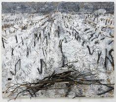 Anselm Kiefer, Dein Haus ritt die finstere Welle, 2006