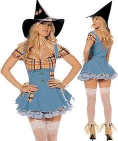 Sexy Scarecrow Halloween Costumes #Sexy #Scarecrow #Halloween #Costumes