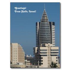Downtown #Haifa #Photograph #Postcard
