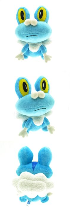 Newest Pokemon XY Froakie Plush Toy Dolls Kawaii 18cm Frogs Froakie Game Plush Toy Soft Stuffed Animals Toys Doll Gift for Kids $5.99