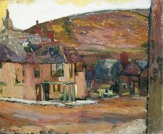 Duncan Grant - The Red House on the Hill