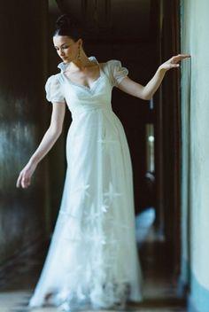 robe de mariage empire sur mesure simple et originale robes pinterest mariage empire et. Black Bedroom Furniture Sets. Home Design Ideas