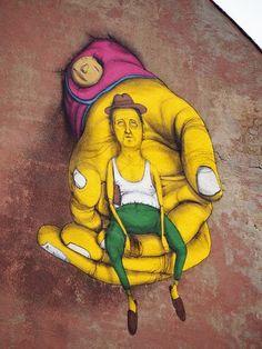 Vilnius, Lithuania - Street Art...Os Gemeos