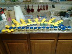 Arrow of Light - Cub Scout award cupcakes