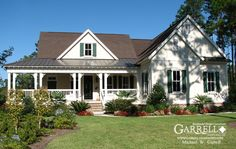 Cumberland Harbor Cottage II House Plan # 10026, Front Elevation,Country, Farm House Plans