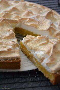 Tarte au citron meringuée Thierry Mulhaupt Sweet Pie, Sweet Tarts, Lemon Meringue Pie, Croissants, Apple Pie, Fondant, Biscuits, Cookies, Cake