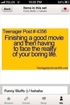 Teenager Post!