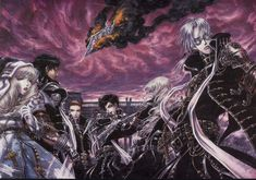 Tags: Trinity Blood, Abel Nightroad, Tres Iques, Hugue de Watteau, Leon Garcia, Shibamoto Thores, Kate Scott, Monica Argento