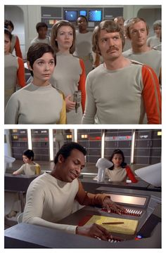 Moonbase Alpha personnel.
