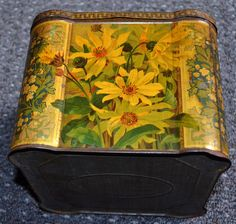 Keen's Mustard tin, side