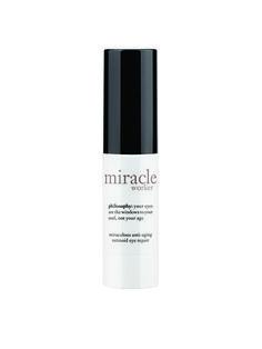 Best of Beauty 2015 Winner -- Best line-smoothing eye cream: Philosophy Miracle Worker Miraculous Anti-Aging Retinoid Eye Repair | allure.com